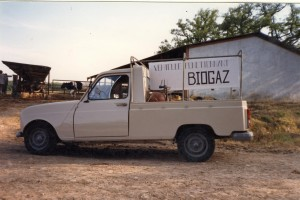 4L pick-up biogaz