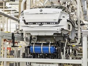 Intégration réservoir GNV sous chassis