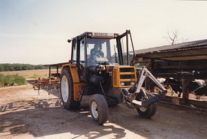 Tracteur Diesel-Biogaz