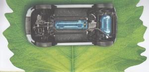 Résevoirs GNV sous chassis FIAT Panda