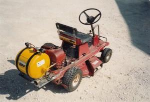 Notre tondeuse GPL en 1991 avec sonde Oxygène !