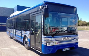 Bus urbain Euro 6 à Montpellier
