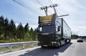 Camion Hybride prototype en Suède