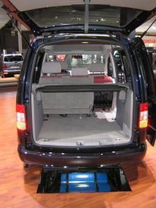 VW Caddy GNV